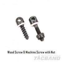 TACBAND WOOD SCREW & MACHINE SCREW W/NUT